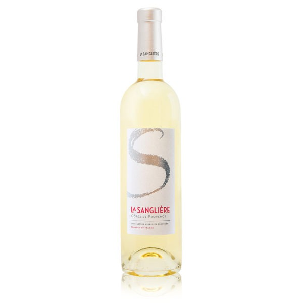 In vino Francés Veritas - Vino Blanco Signature de la Sanglière - 100% Rolle - AOP Côtes de Provence