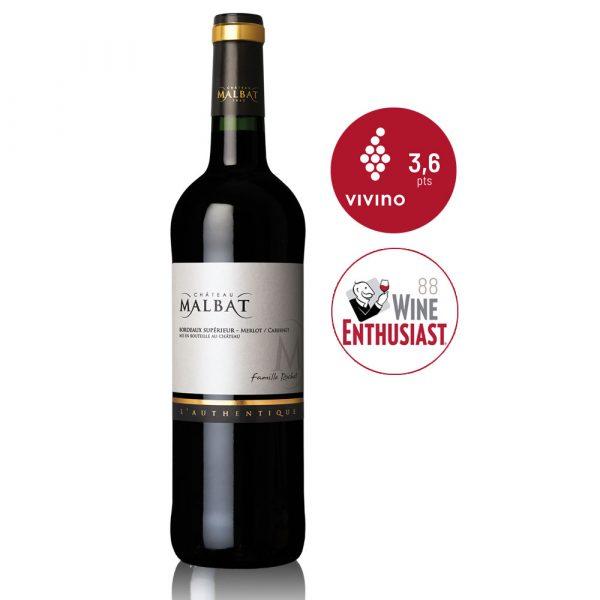In Vino Frances Veritas - Authentique - Château Malbat