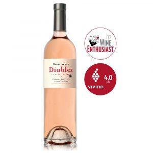 IVFV Les Petits Diables bodega les diables vino rosado frances côtes de provence Syrah Cinsault