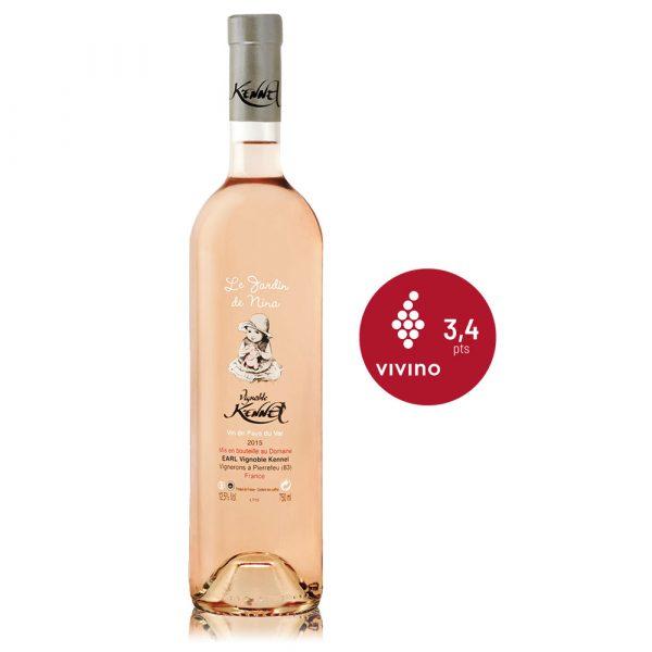 In Vino Frances Veritas - Nina Rosé - Bodega Kennel - Vino rosado Frances