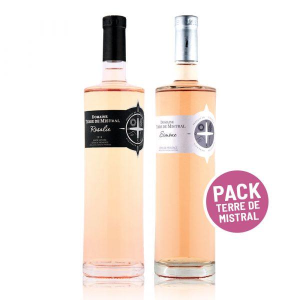 Invino Frances Veritas - Pack Terre de Mistral - vino rosé provence