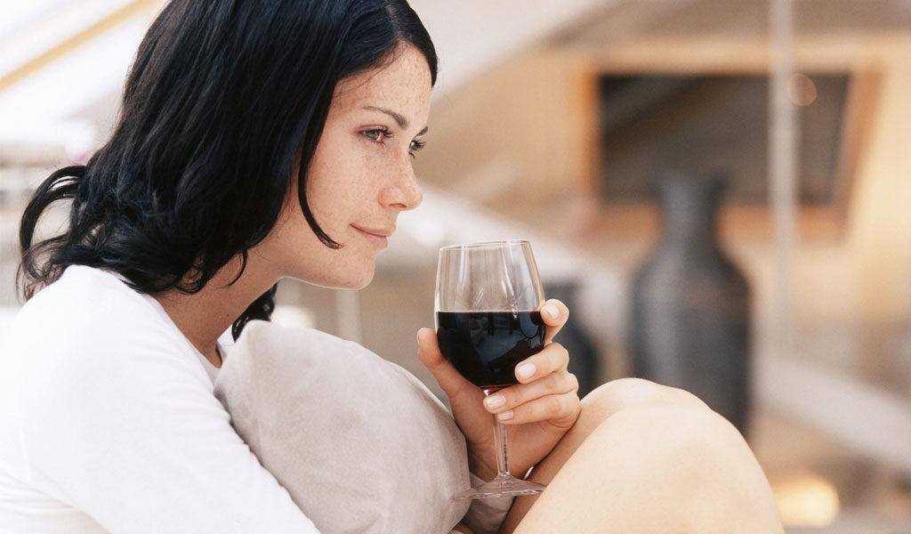 Cambiando del consumo de vino