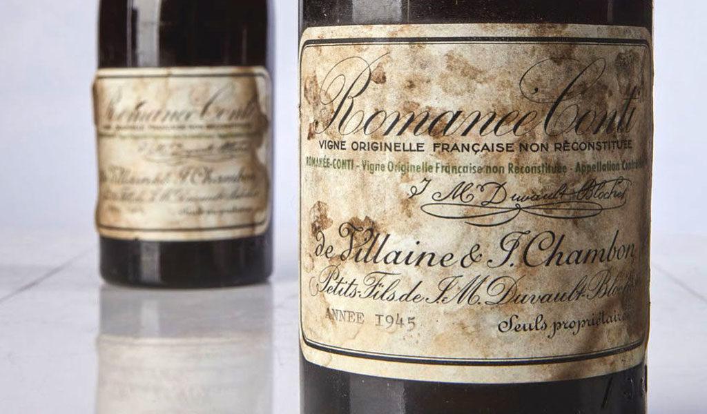 La botella de vino más cara del mundo