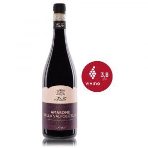 In Vino Frances Veritas - Flatio - amarone valpolicella 2010 - vino tinto italiano