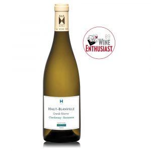 BLANVILLE GRANDE RESERVE blanco - Chardonnay Roussanne - In Vino Frances Veritas