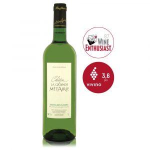 IVFV Château La Grande Métairie Entre deux Mers Buffeteau vino blanco Francés sauvignon