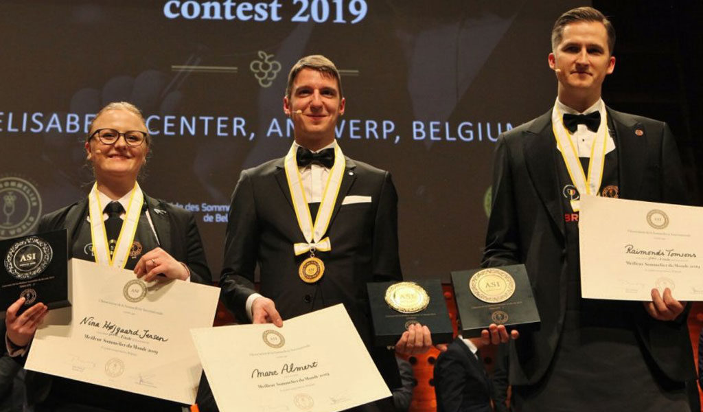 Marc Almert, Mejor sommelier del mundo 2019