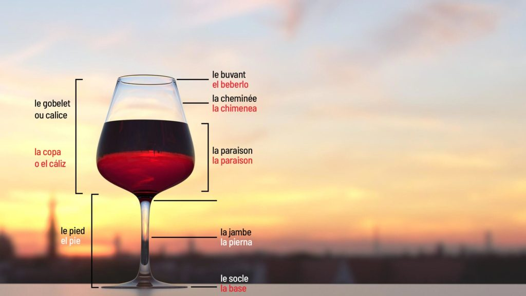 ¿Por qué las copas de vino tienen pie?