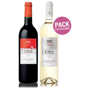 In Vino Frances Veritas Pack Château Calissanne tinto & blanco - Provence