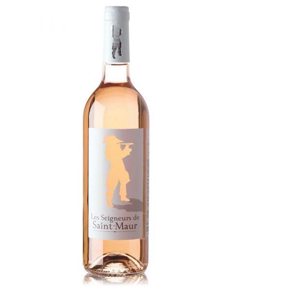 LES SEIGNEURS de SAINT-MAUR ROSÉ Vino Rosado